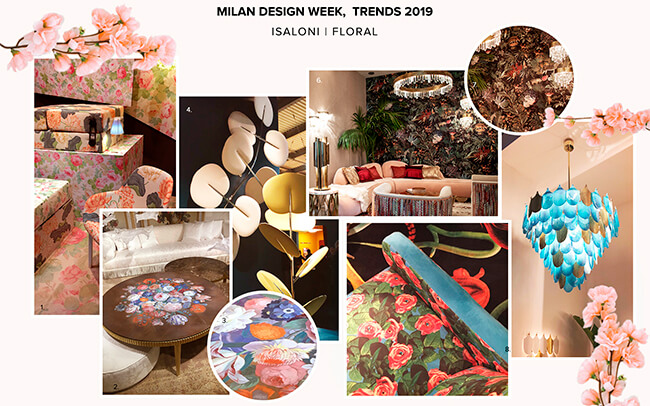 Salone del Mobile Floral Patterns