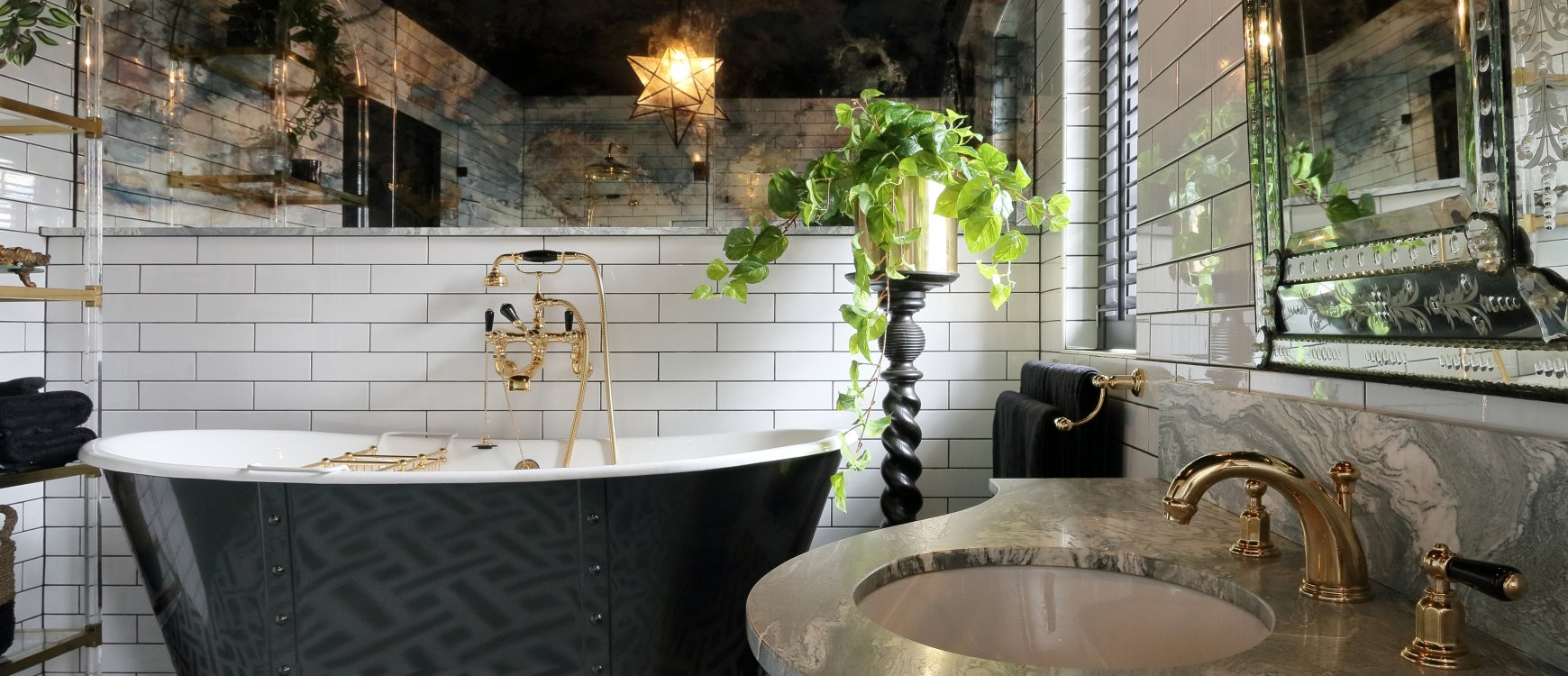 How To Get A Hollywood Regency Bathroom Inspiration Design Books Blog