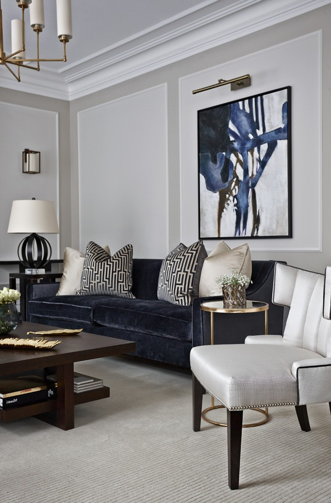 Living Room Design Contemporary: Don't Pick Traditional Colors