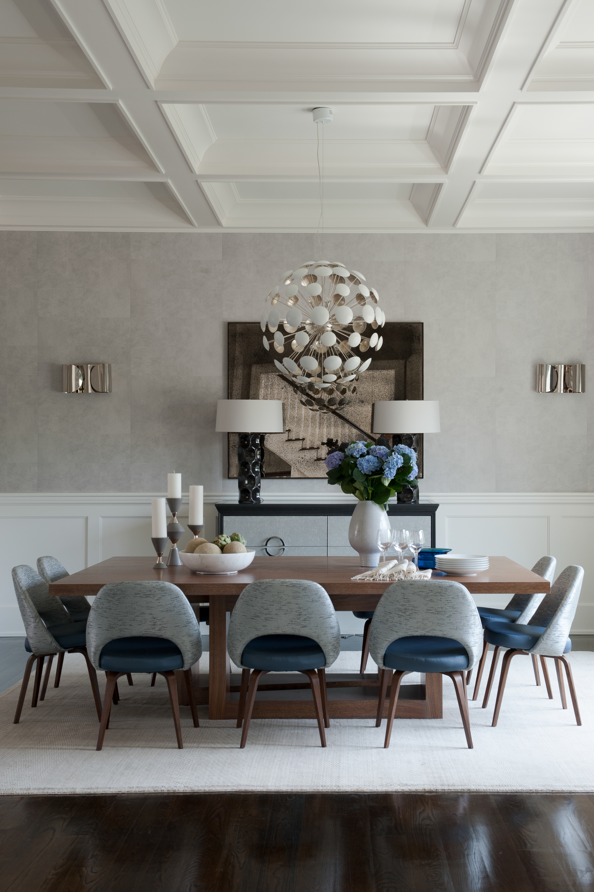 modern classic dining room style