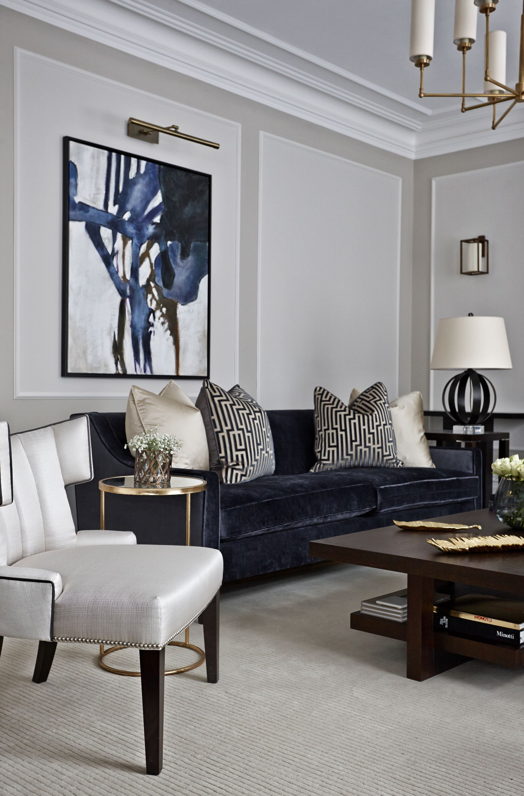 How to Get a Modern Classic Living Room - Inspiration Design ...
