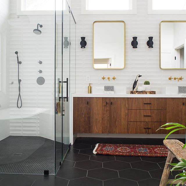 Top 10 Stunning Mid Century Bathrooms On Instagram