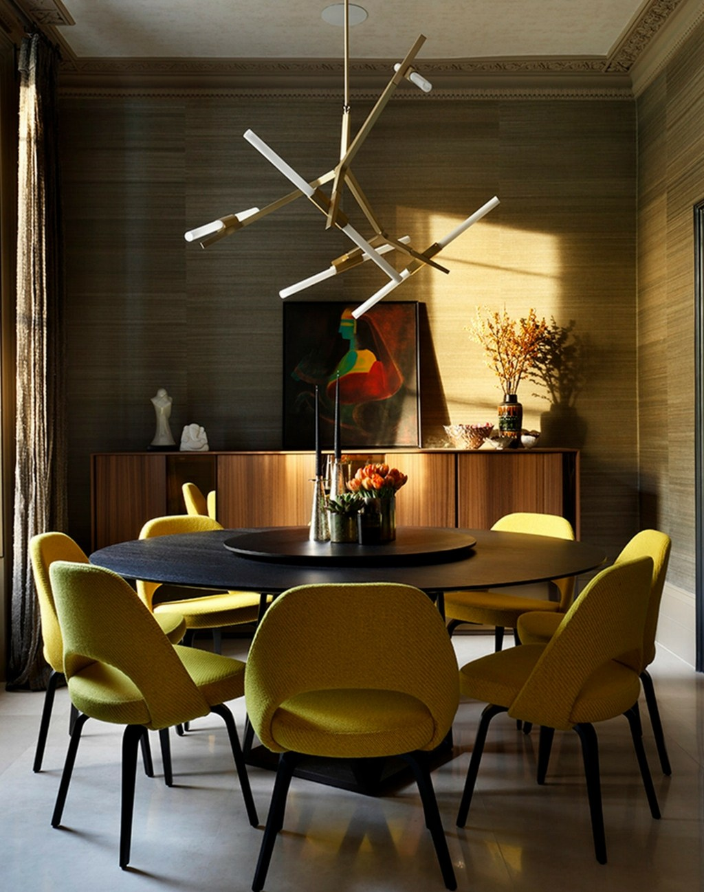 5 steps to get a mid-century dining room