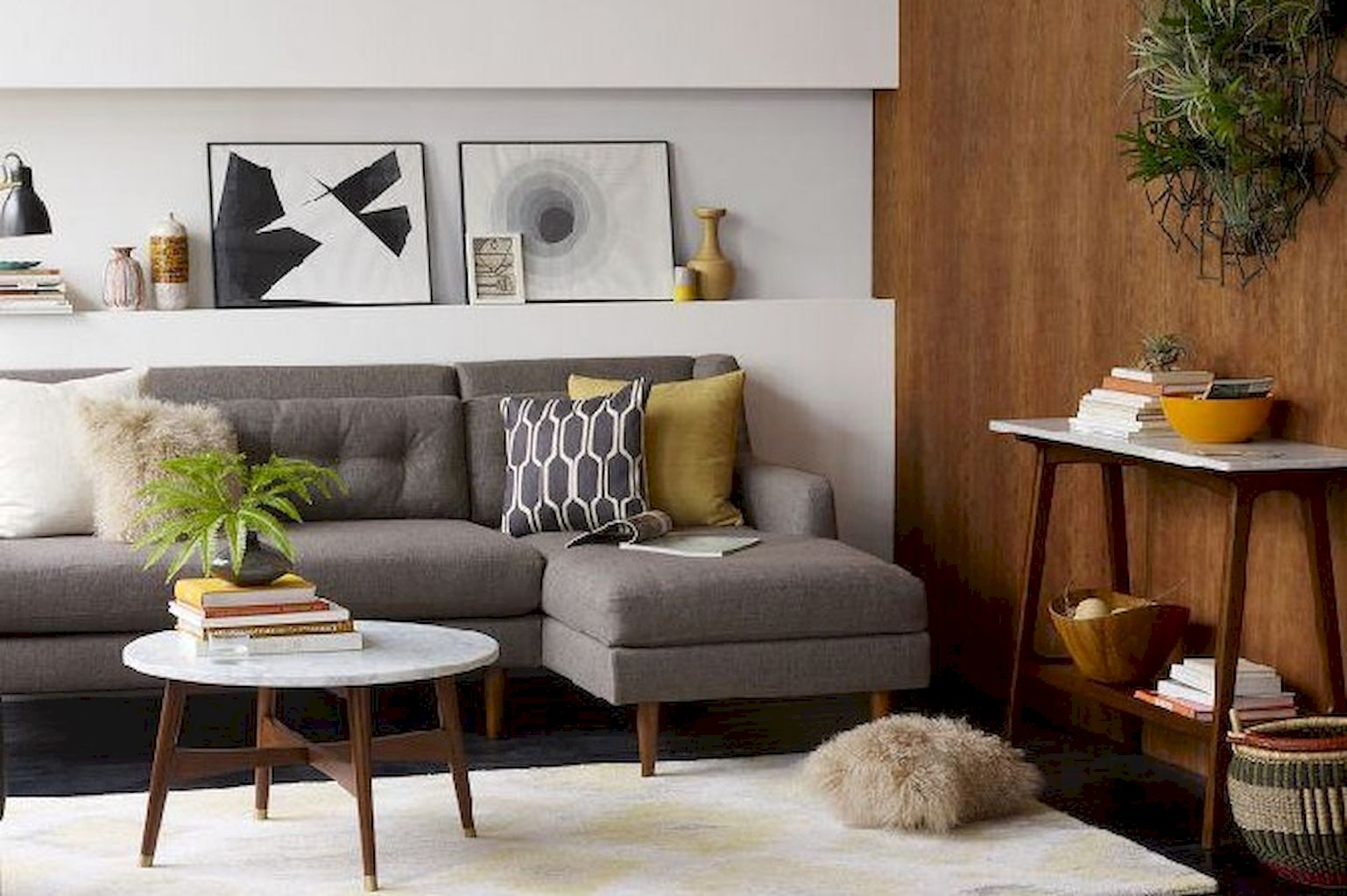 A Guide to how to Get a Mid-Century Modern Living Room