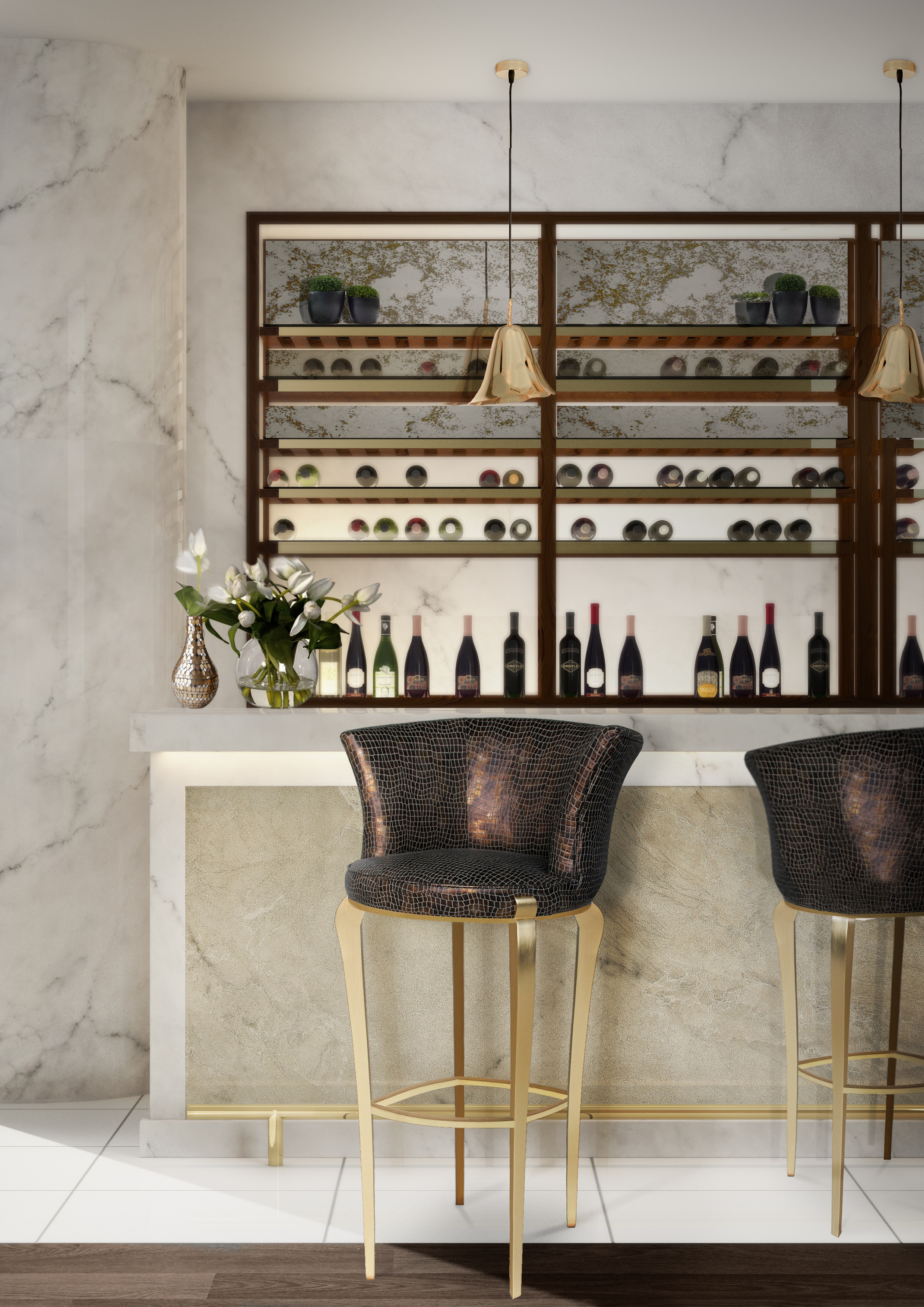 top 10 amazing upholstered bar chairs
