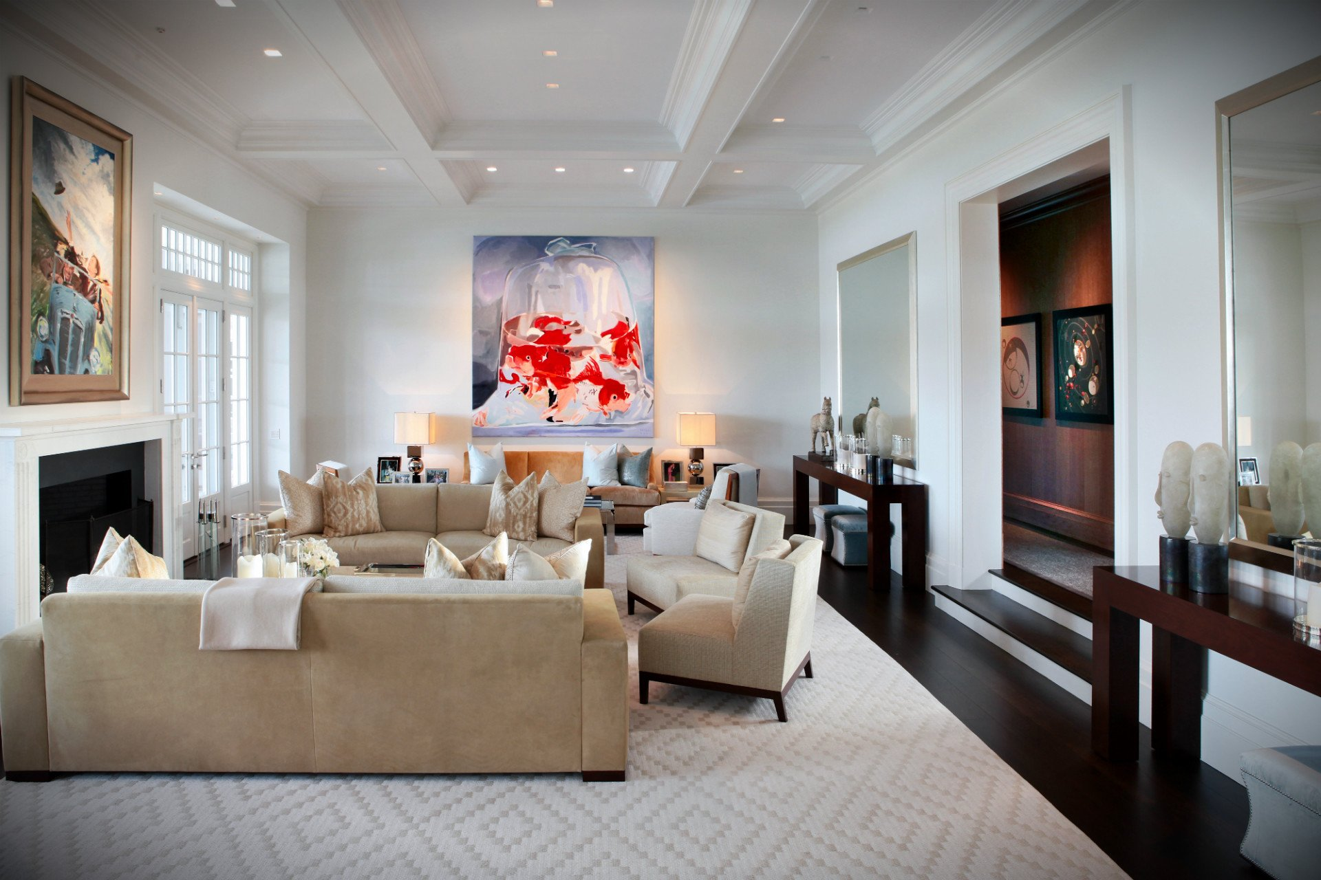 Impressive Living Room By Pembrooke Ives