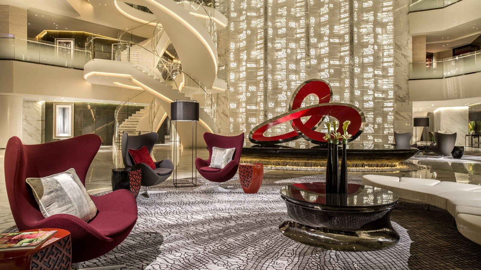 Four Seasons Hotel In Guangzhou Has An Impressive Interior Design And All The Details Of Ideas Is Amazing Experience To