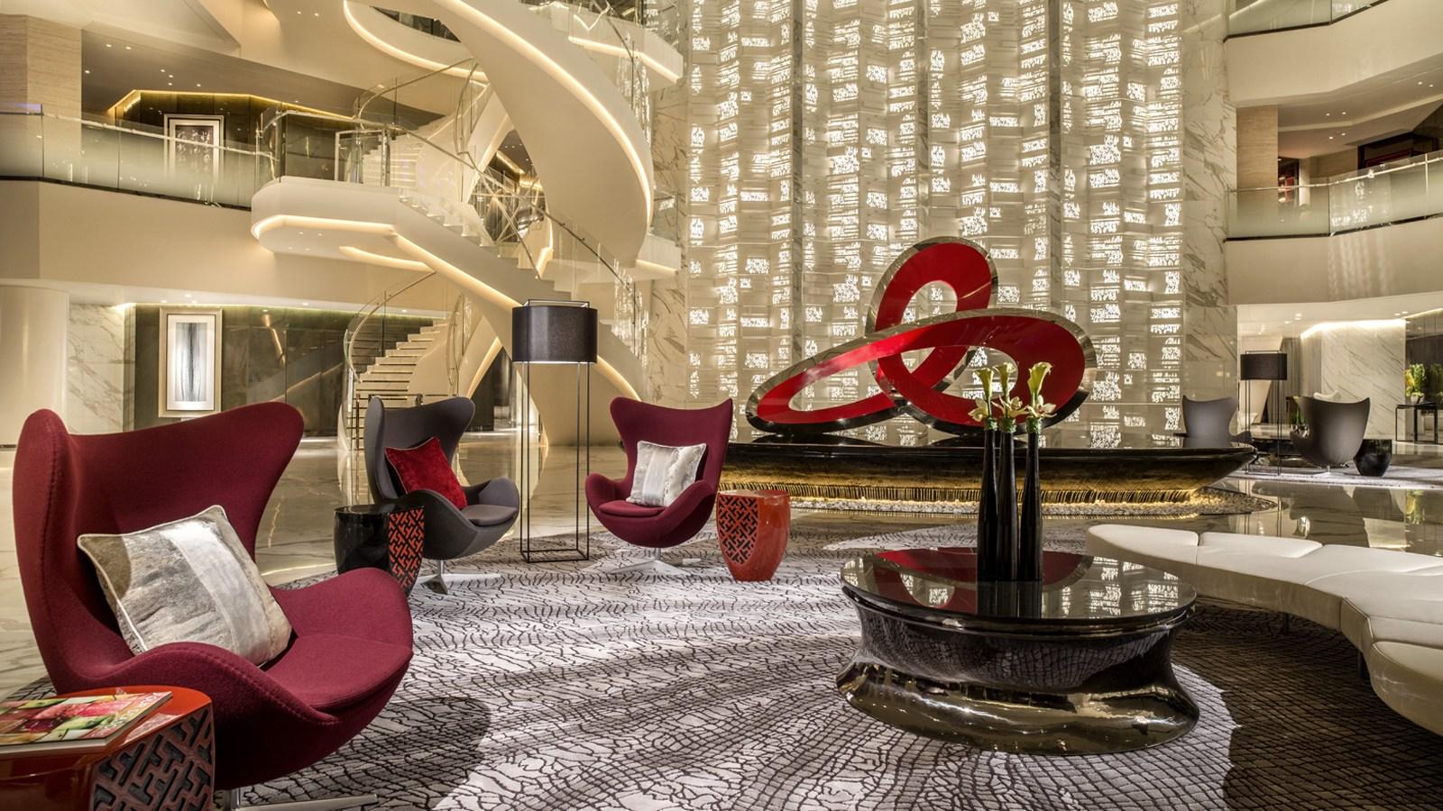Four seasons hotel guangzhou for Top hotel decor
