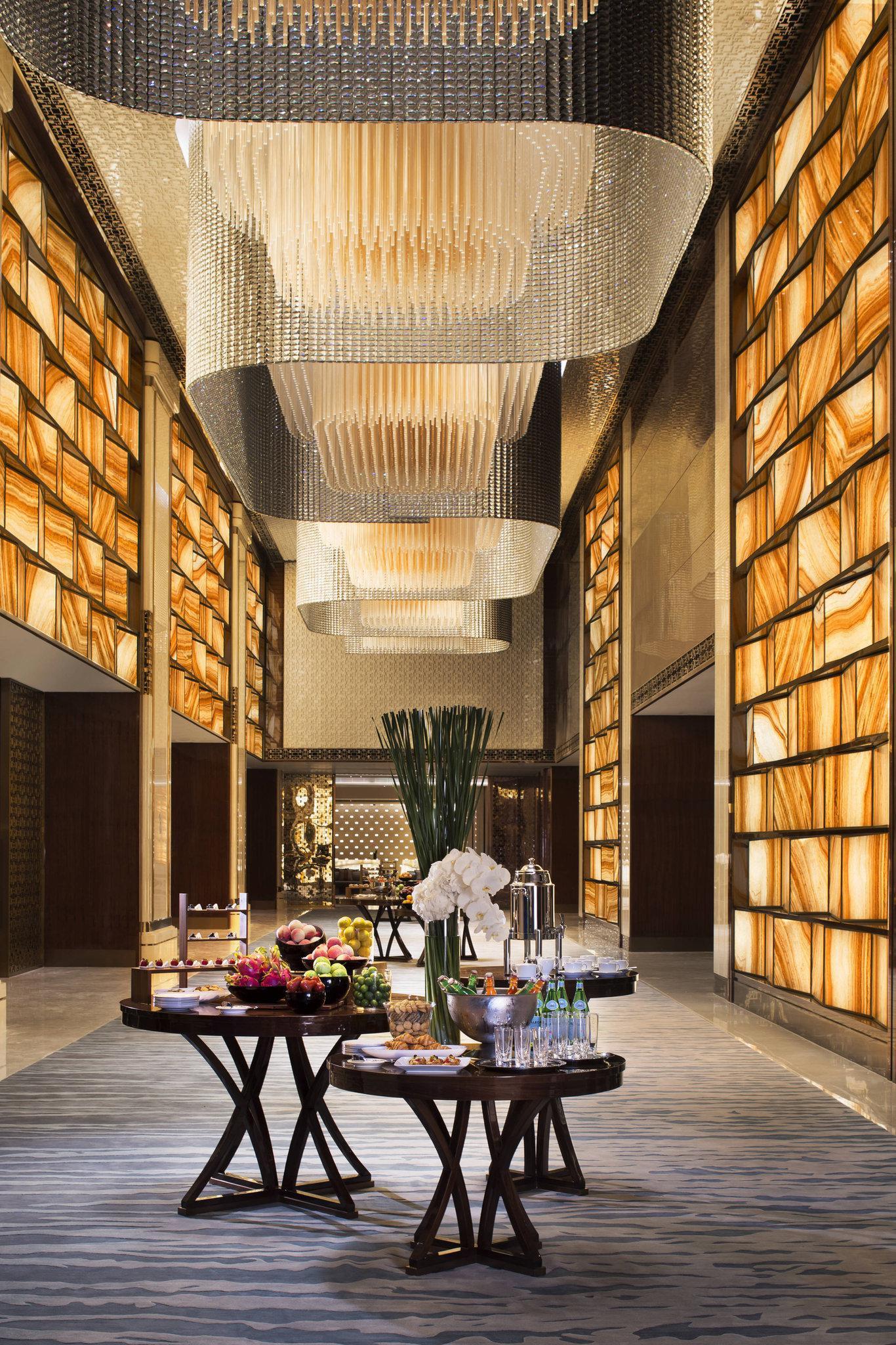 Outstanding lighting modern ideas to decor Hotel Lobby