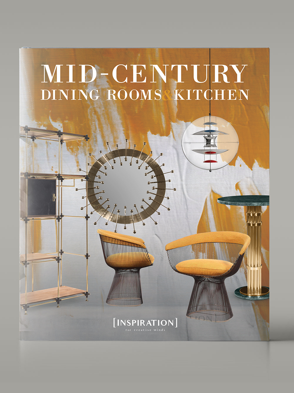Mid Century Dining Room and Kitchens Book - Inspiration Design
