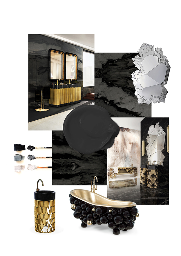 Bathroom Trends - Black