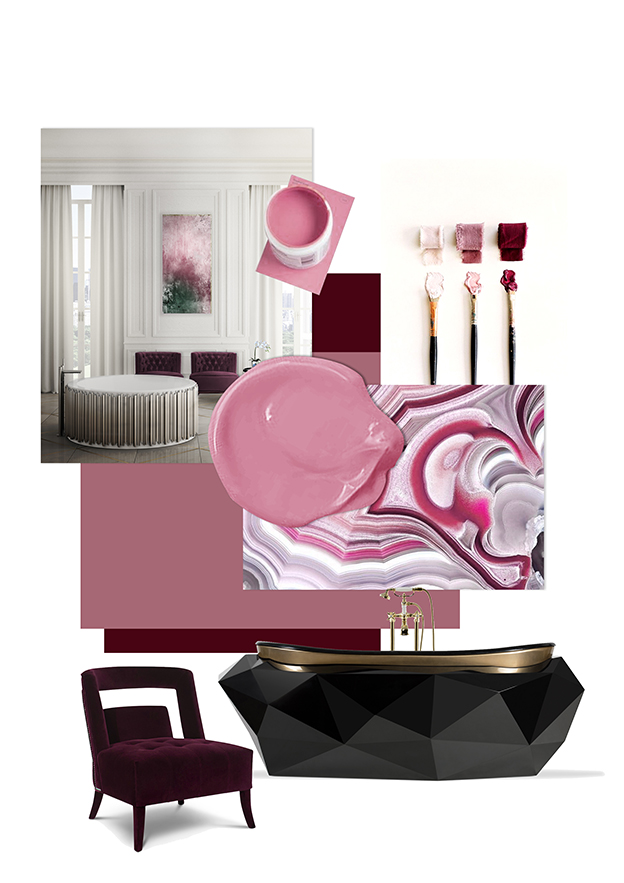 Bathroom Trends - Fuchsia