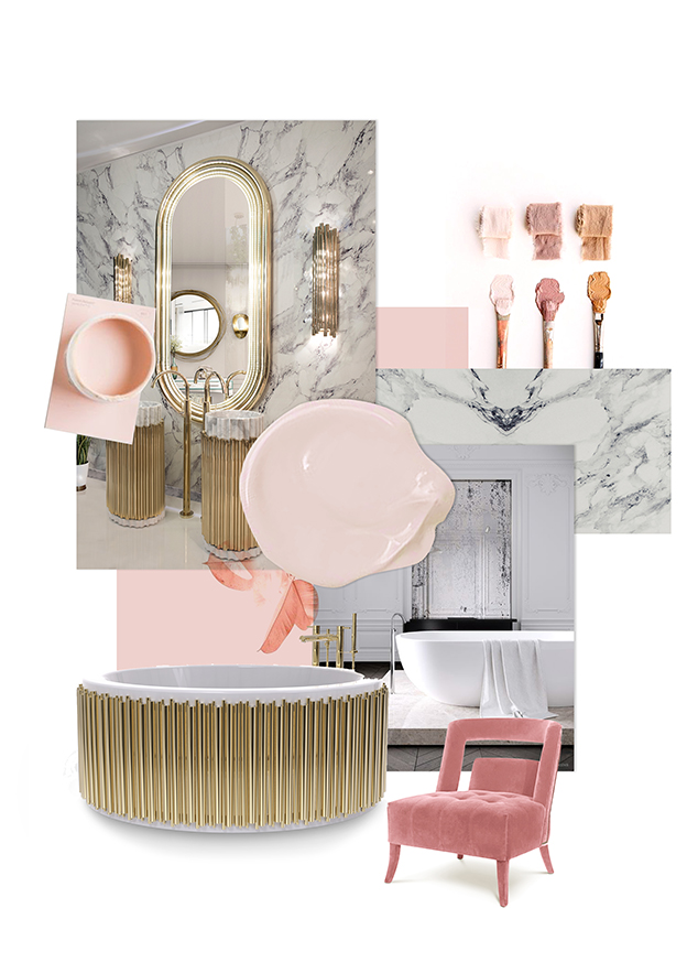 Bathroom Trends - Pink