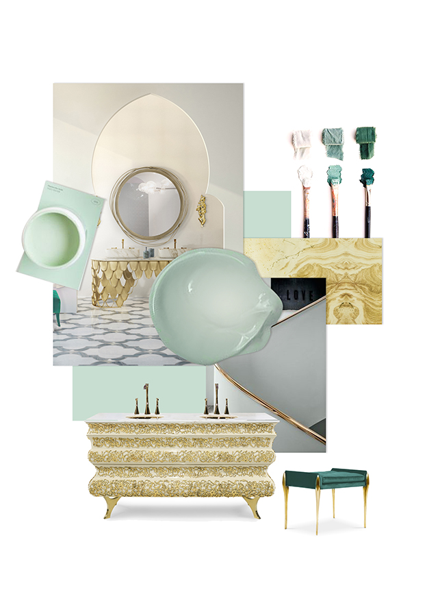 Bathroom Trends - Teal