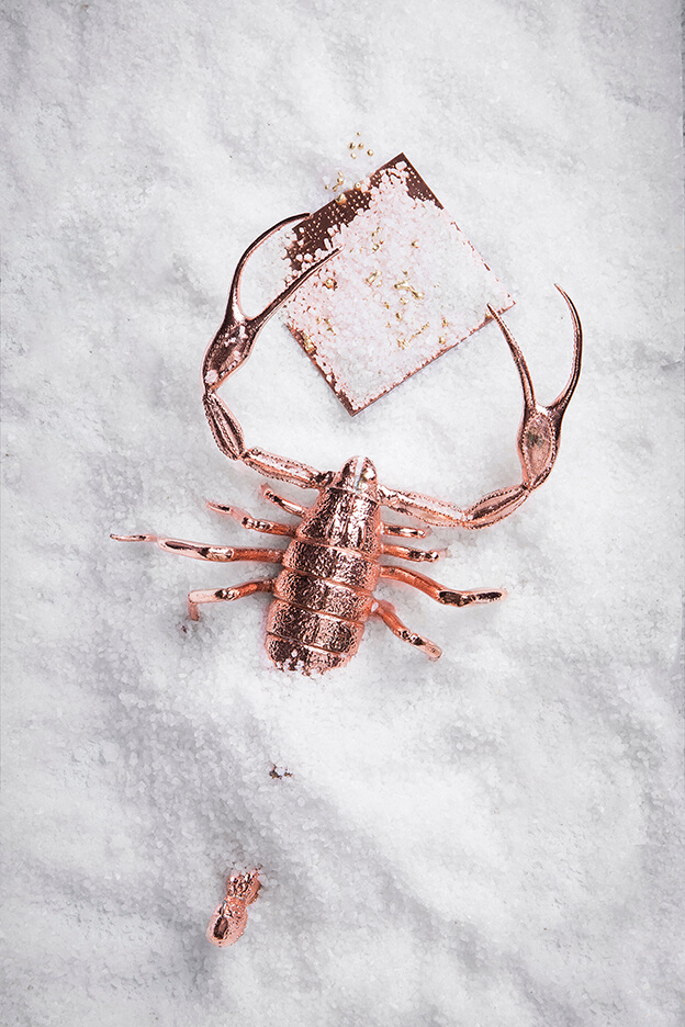 Rose Gold Scorpion