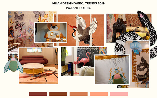 Salone del Mobile Animal Patterns