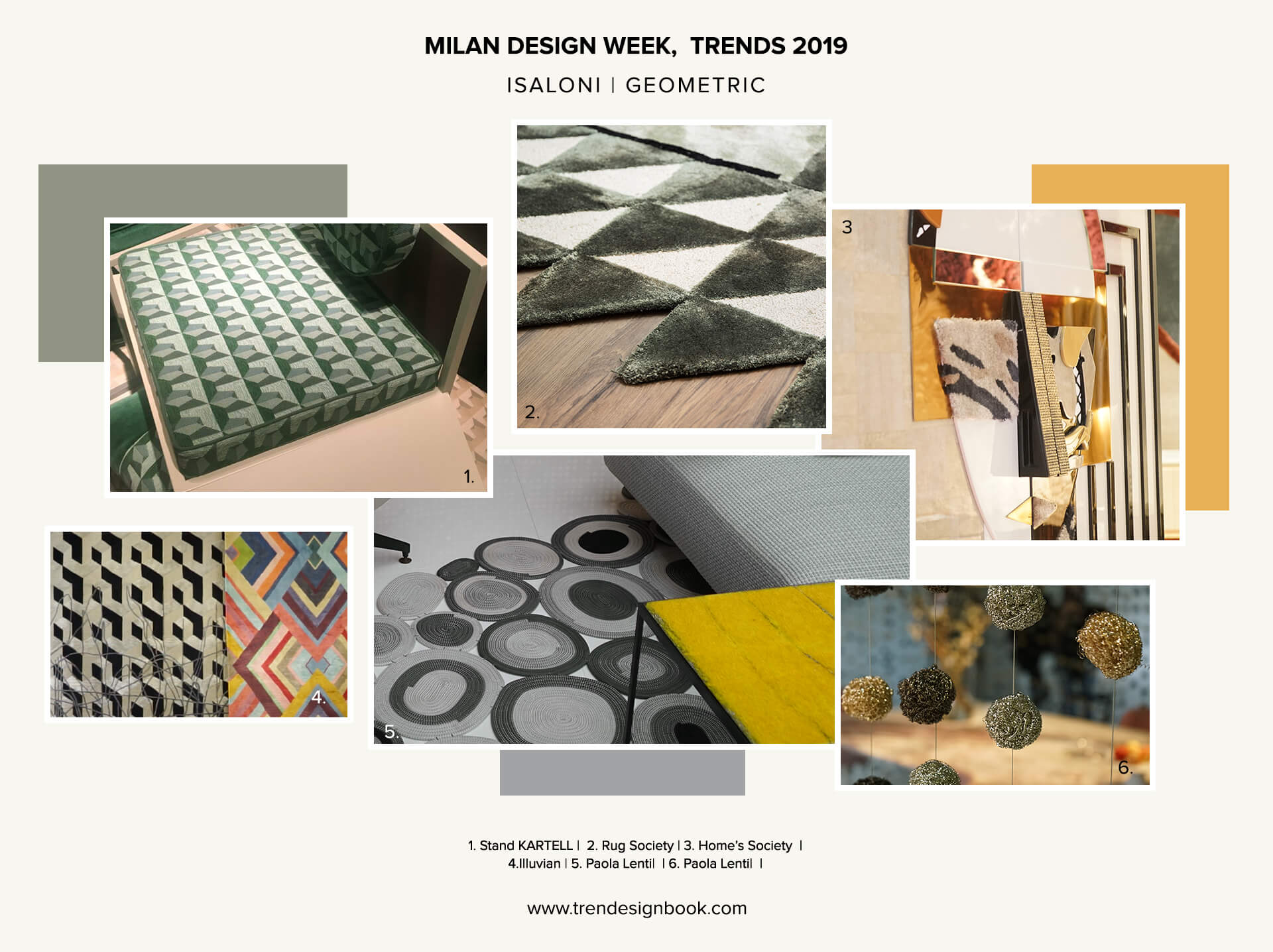Salone del Mobile Geometric Patterns